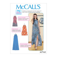 McCalls 7943 Dresses sewing pattern