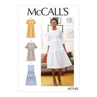 McCalls 7948 Dresses sewing pattern