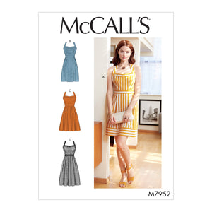 McCalls 7952 Dresses sewing pattern from Jaycotts Sewing Supplies