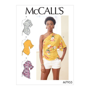 McCalls 7955 Tops sewing pattern