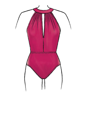 McCalls 7964 Swimsuit and Cover-Up sewing pattern