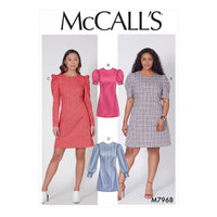 McCalls 7968 Misses' and Women's Dresses pattern from Jaycotts Sewing Supplies