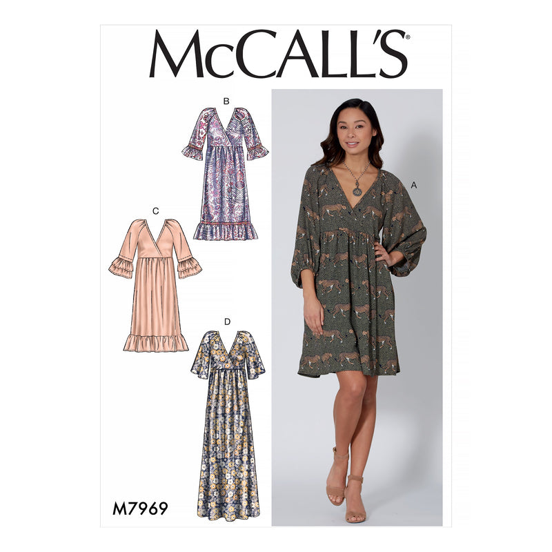 McCalls 7969 Dresses sewing pattern