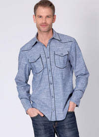 McCalls 7980 Misses' and Men's Shirts pattern