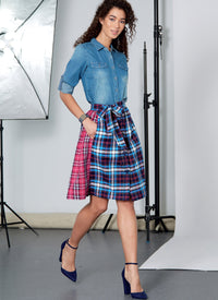 McCalls 7981 Skirts sewing pattern