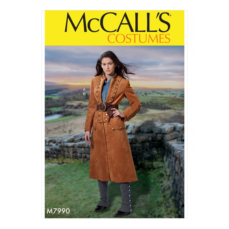 McCalls 7990 Misses' Costume pattern
