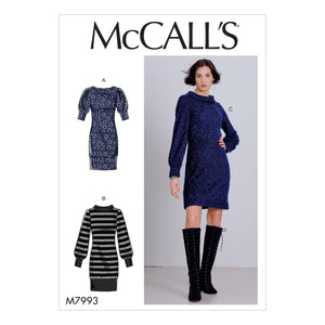 McCall's Sewing Pattern 7993 Dresses