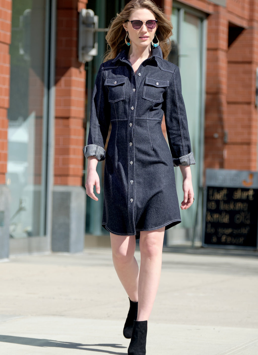 McCall's Sewing Pattern 7996 Shirt Dresses