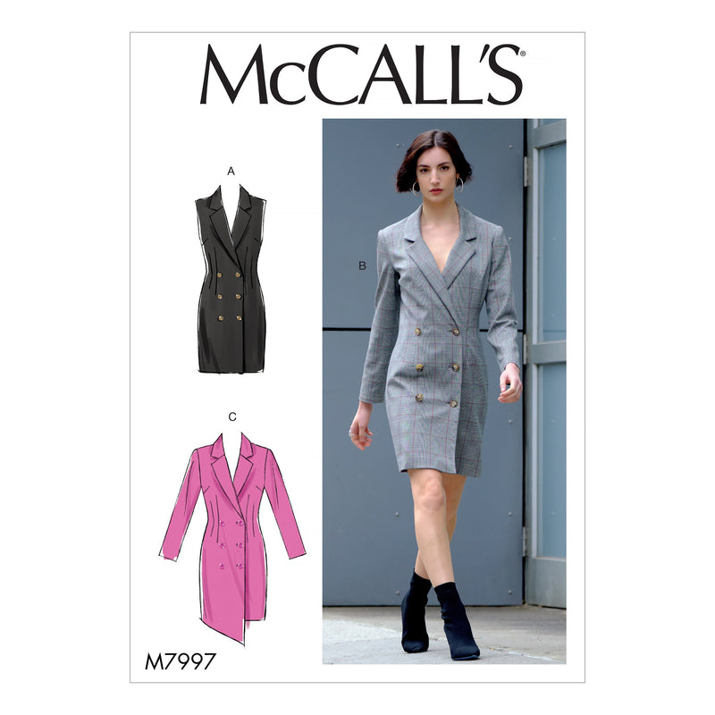 McCall's Sewing Pattern 7997 Dresses