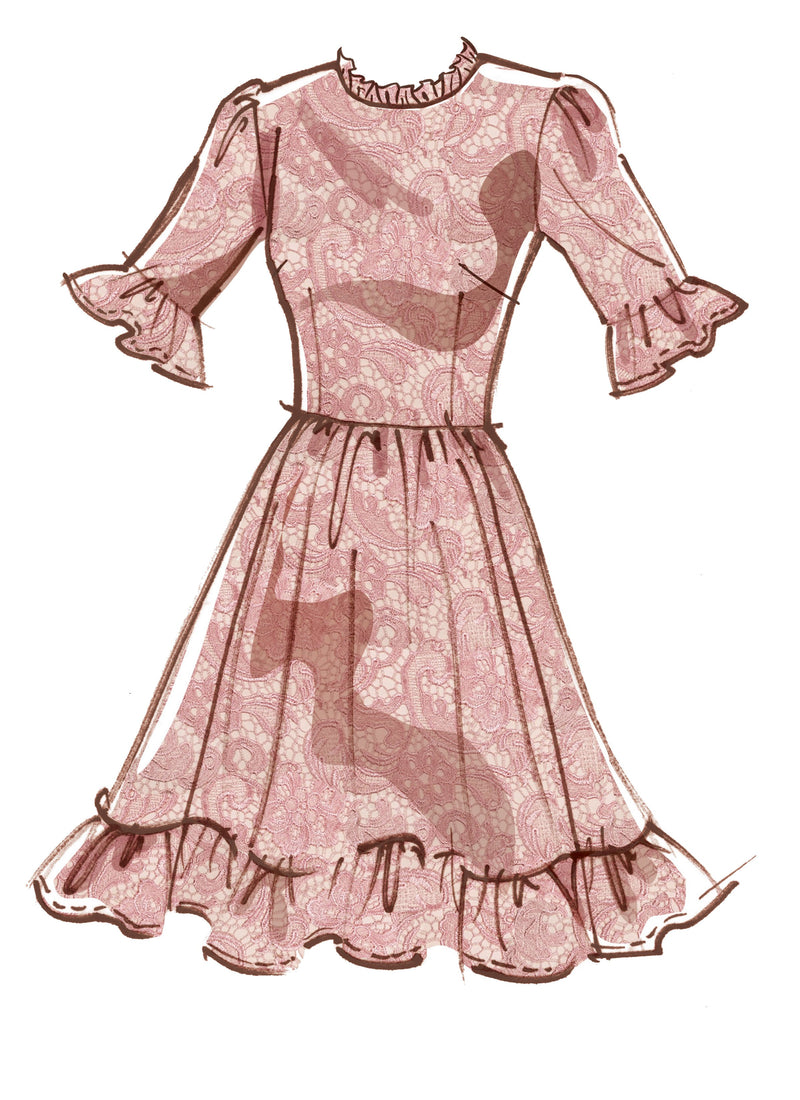 McCall's pattern 8032 Dresses from Jaycotts Sewing Supplies