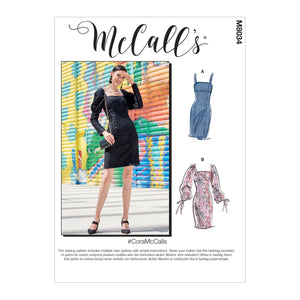 McCall's pattern 8034 Misses' / Petite Dresses from Jaycotts Sewing Supplies