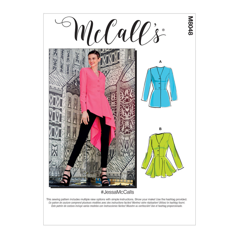 McCall's pattern 8048 Misses' Jackets