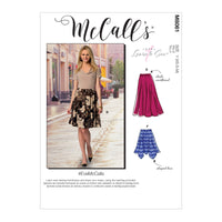 McCall's pattern 8061 Flared Skirts