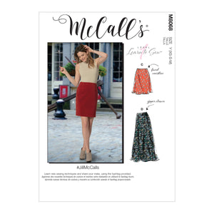 McCall's pattern 8068 Skirts in Three Lengths
