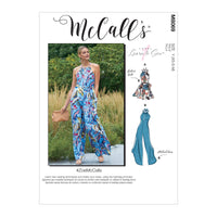McCall's pattern 8069 Romper, Jumpsuits and Belt from Jaycotts Sewing Supplies