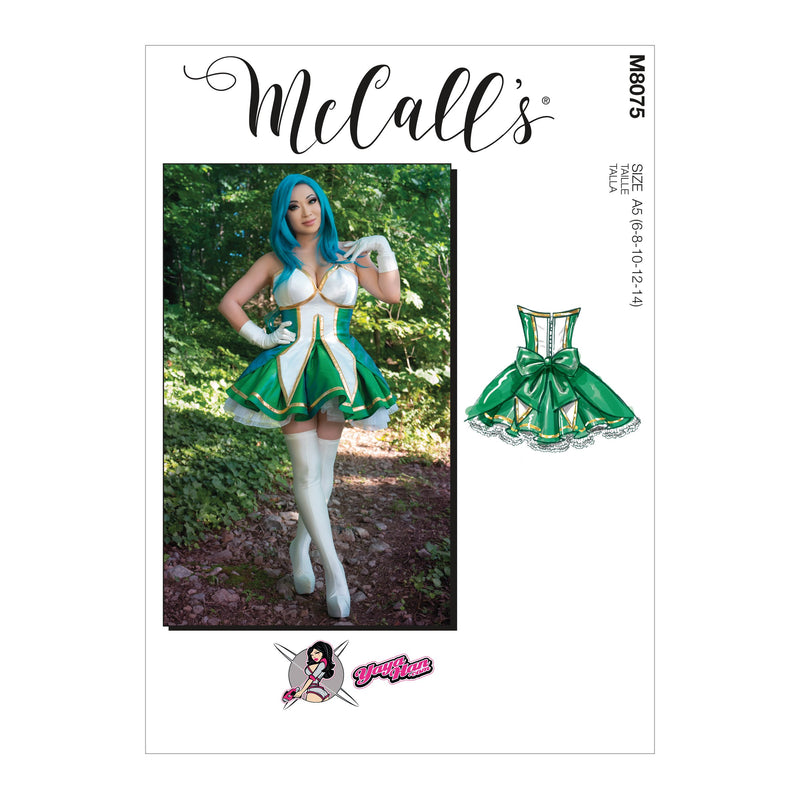 McCall's 8075 Costume sewing pattern by Yaya Han from Jaycotts Sewing Supplies