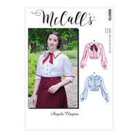 McCall's 8078 Historical Blouse sewing pattern from Jaycotts Sewing Supplies