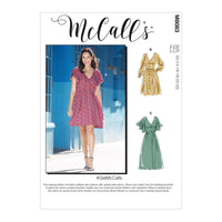 McCall's 8083 Dresses and Belt sewing pattern #GiaMcCalls from Jaycotts Sewing Supplies