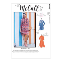 McCall's 8086 Shirt Dress sewing pattern #MartaMcCalls