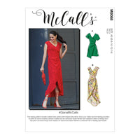 McCall's 8088 Dresses sewing pattern #GianaMcCalls
