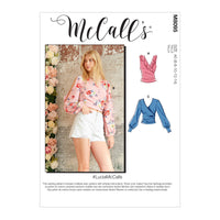 McCall's 8095 Tops sewing pattern #LuciaMcCalls