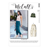 McCall's 8099 Shorts and Pants sewing pattern #LinaMcCalls from Jaycotts Sewing Supplies
