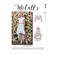 McCall's 8102 Tops and Skirt sewing pattern #LorettaMcCalls