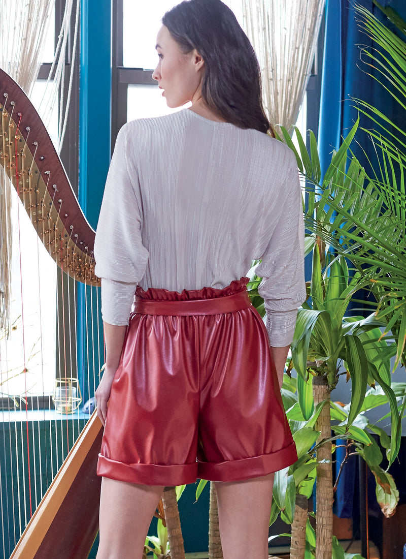 McCall's 8118 Shorts, Pants and Belt sewing pattern #SequoiaMcCalls