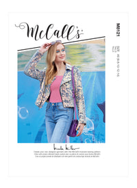 McCall's 8121 Jacket sewing pattern from Jaycotts Sewing Supplies