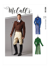 McCall's 8135 COSTUME pattern | Men's Historical Jacket from Jaycotts Sewing Supplies