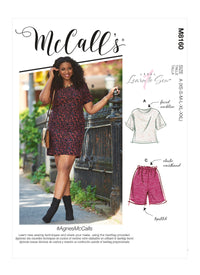 McCall's 8160 Misses' / Petite Top, Dress, Shorts and Pants pattern from Jaycotts Sewing Supplies