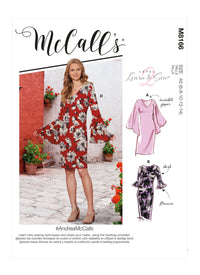 McCall's 8166 DRESS pattern from Jaycotts Sewing Supplies