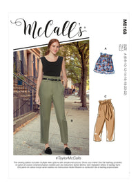 McCall's 8168 Misses' Shorts, Trousers / pants pattern from Jaycotts Sewing Supplies