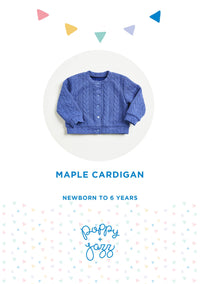 Sew Over It Poppy + Jazz | Maple Cardigan Pattern from Jaycotts Sewing Supplies