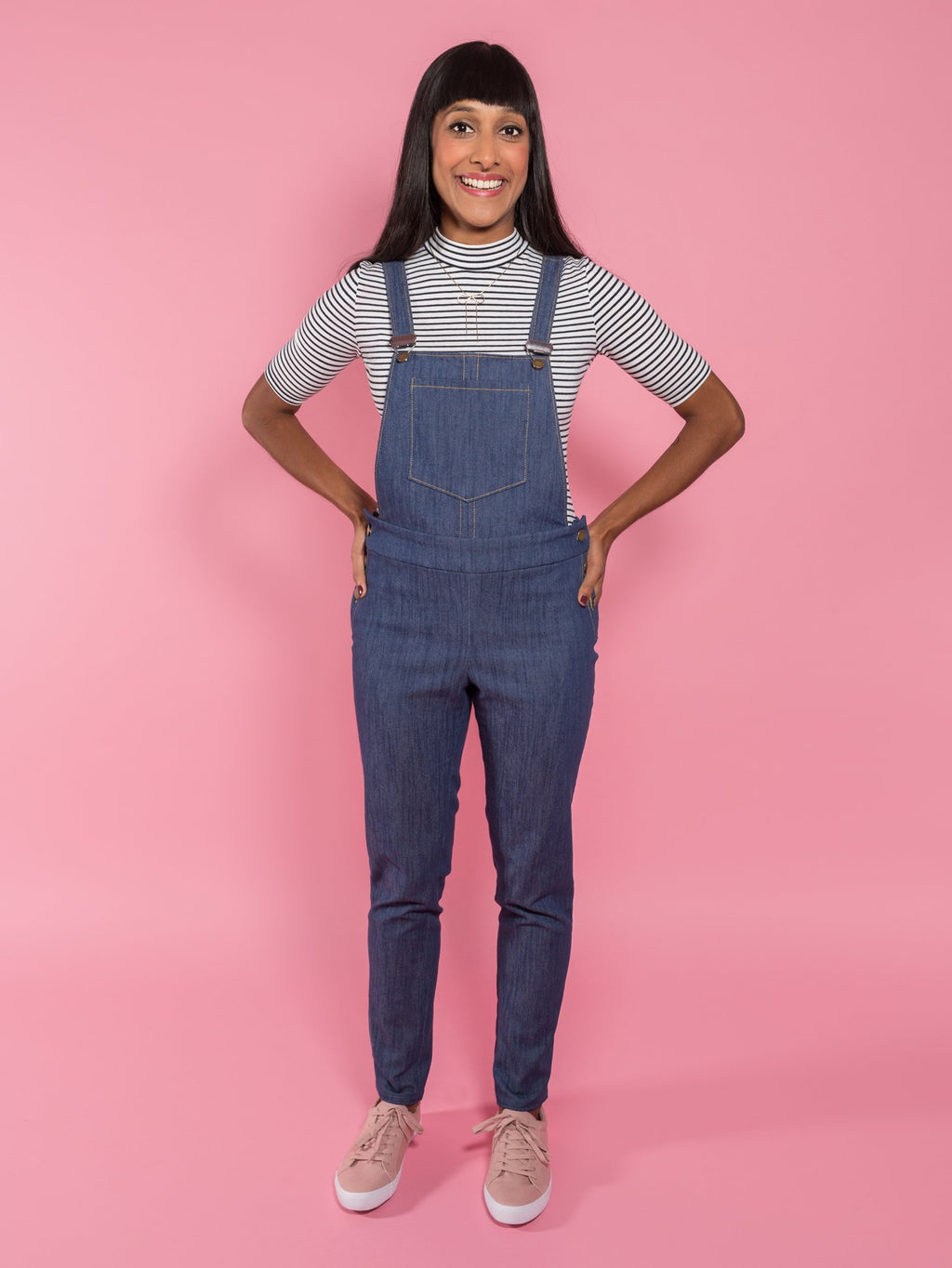 Tilly & The Buttons Mila Dungarees Pattern - 1019 from Jaycotts Sewing Supplies