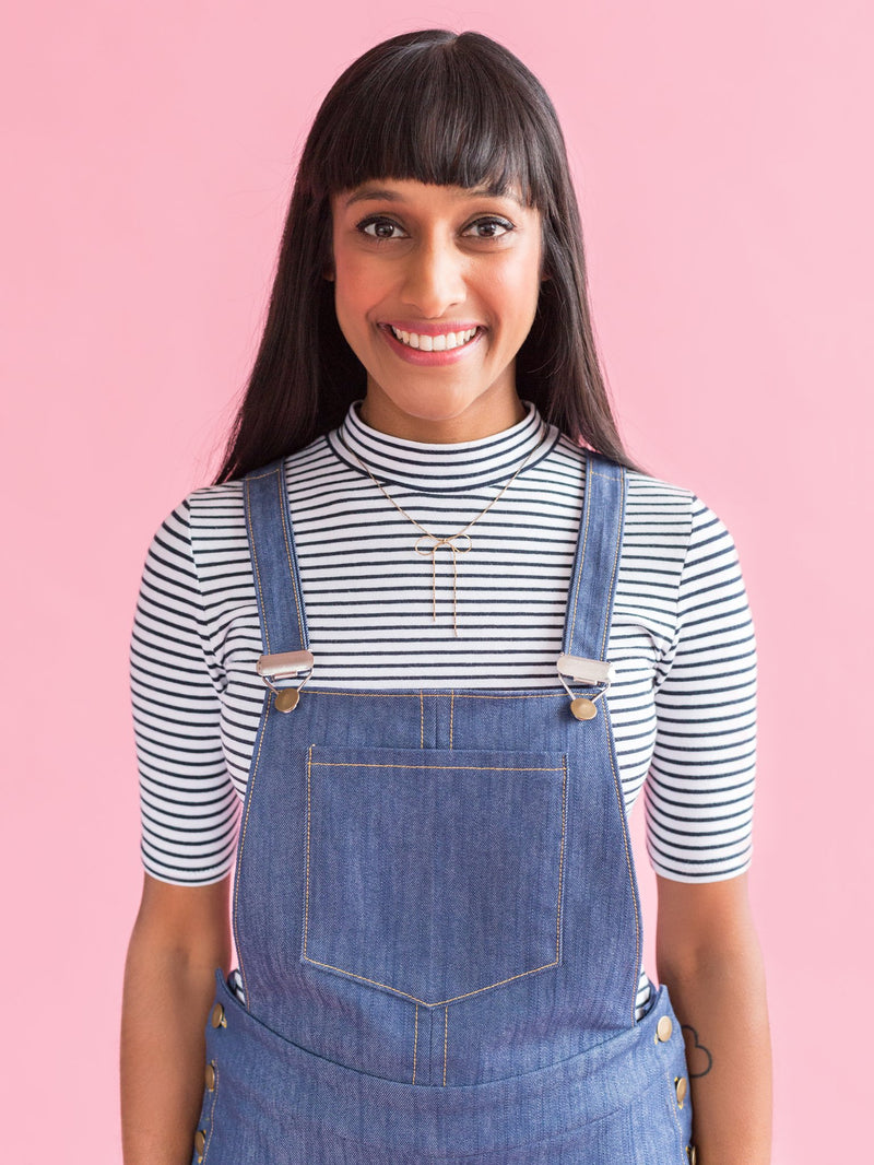 Tilly & The Buttons Mila Dungarees Pattern - 1019