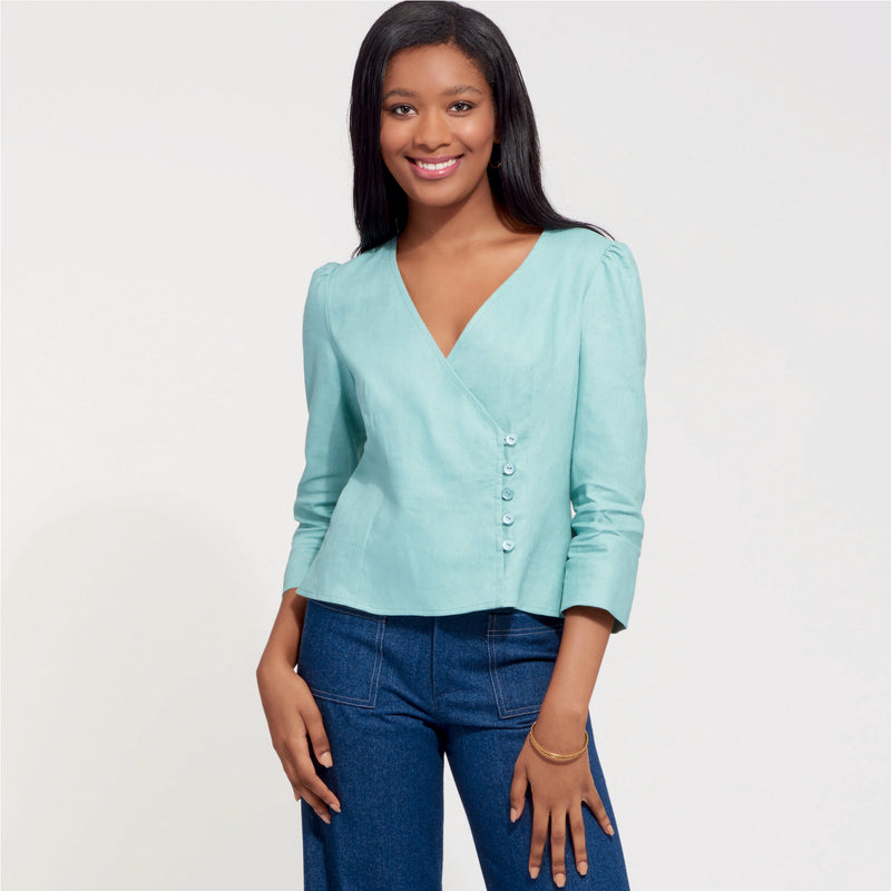 New Look Sewing Pattern 6601 Tops