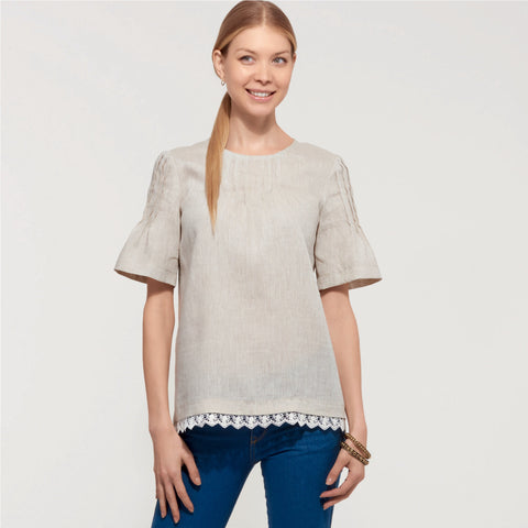 New Look Sewing Pattern 6604 Tops