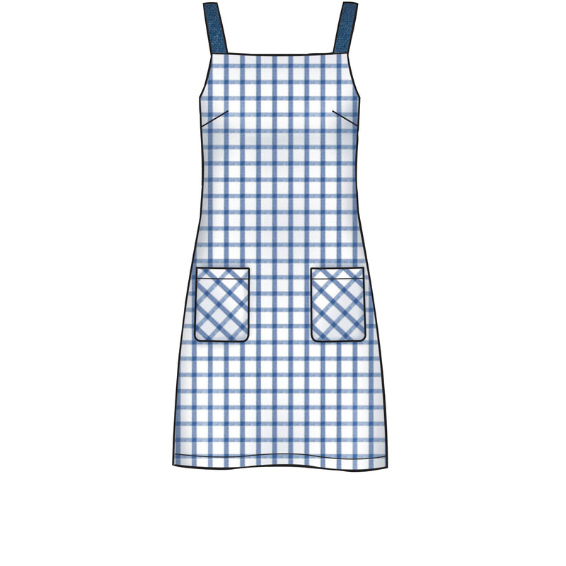 New Look Sewing Pattern 6614 Misses' Dresses