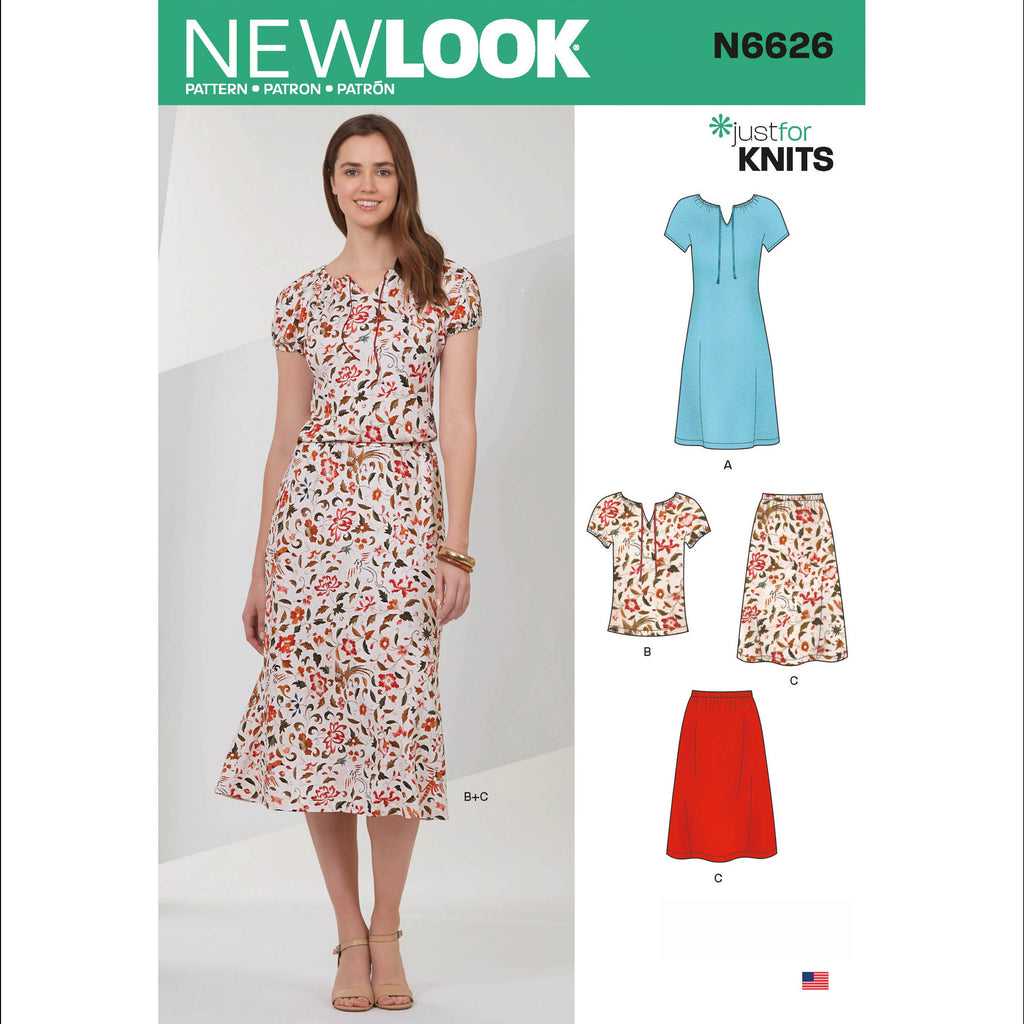 New Look Sewing Pattern 6626