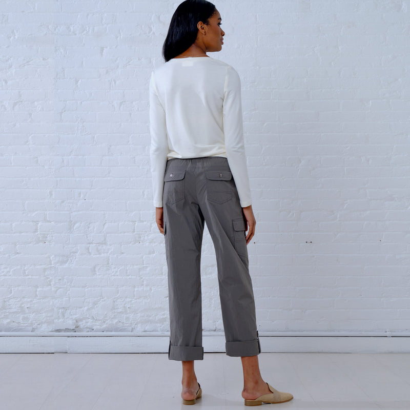 New Look Pattern 6644 Cargo Pants and Knit Top