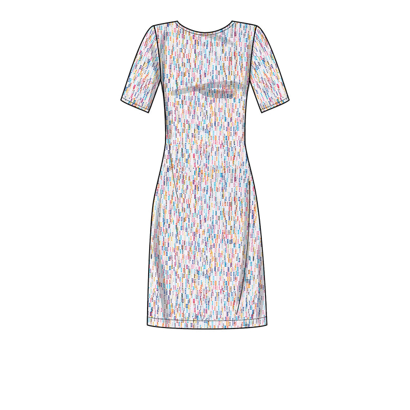 New Look Sewing Pattern 6650  Knit Dress