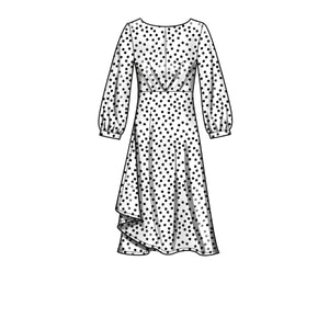 New Look Sewing Pattern 6655  Dress In Two Lengths