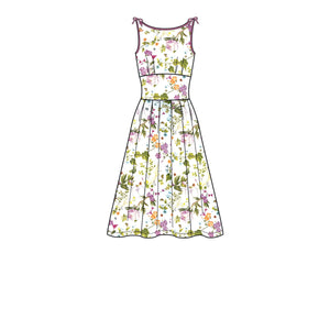 New Look Sewing Pattern 6665 Misses' Dress