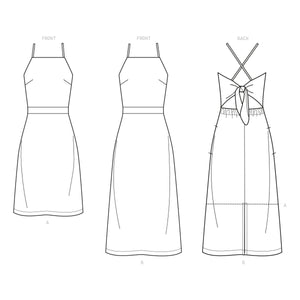 New Look Sewing Pattern 6666 Misses' Dress