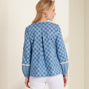 New Look Sewing Pattern 6671 Misses' Top