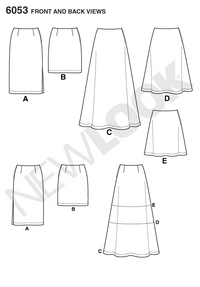 NL6053 Misses' Skirt | Easy from Jaycotts Sewing Supplies