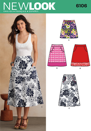 NL6106 Misses' Skirt from Jaycotts Sewing Supplies