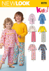 NL6170 Toddlers' & Child's Pyjamas
