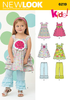 NL6219 Toddlers' Dress & Pants